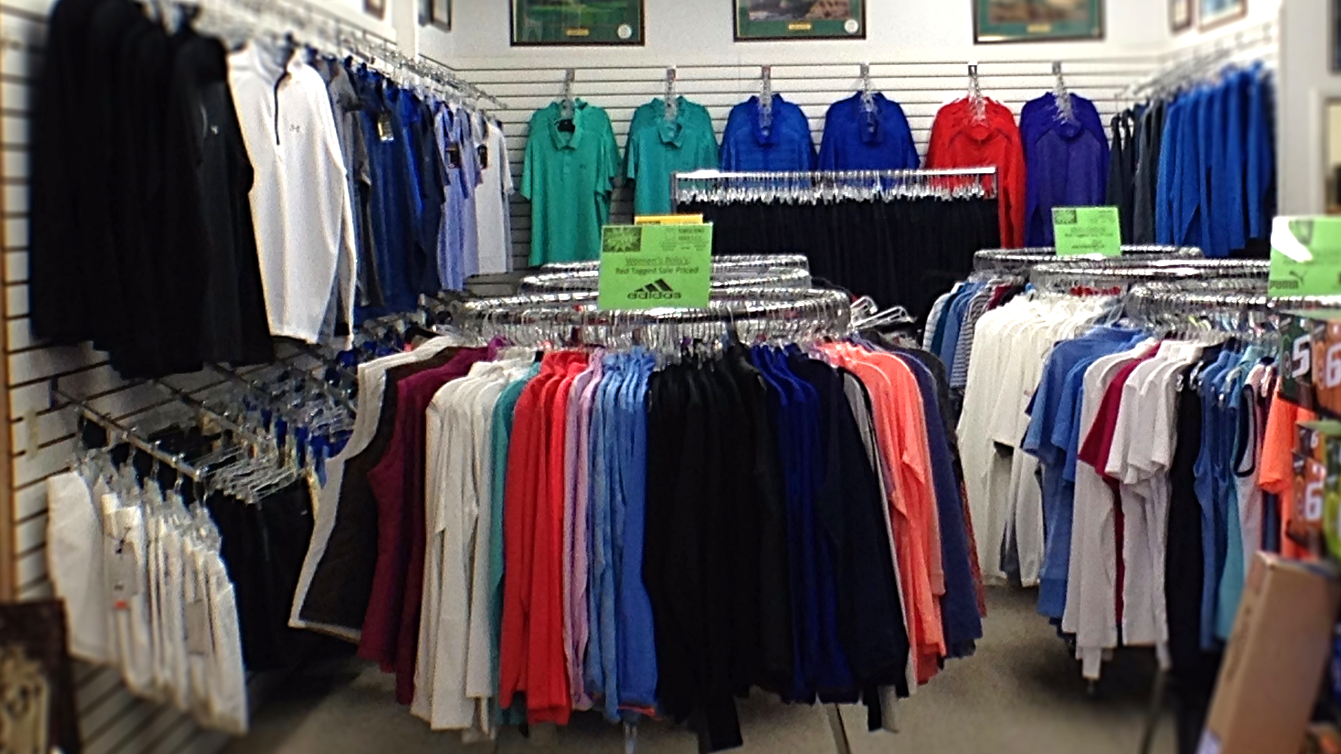 Golf Apparel at North Iowa Golf