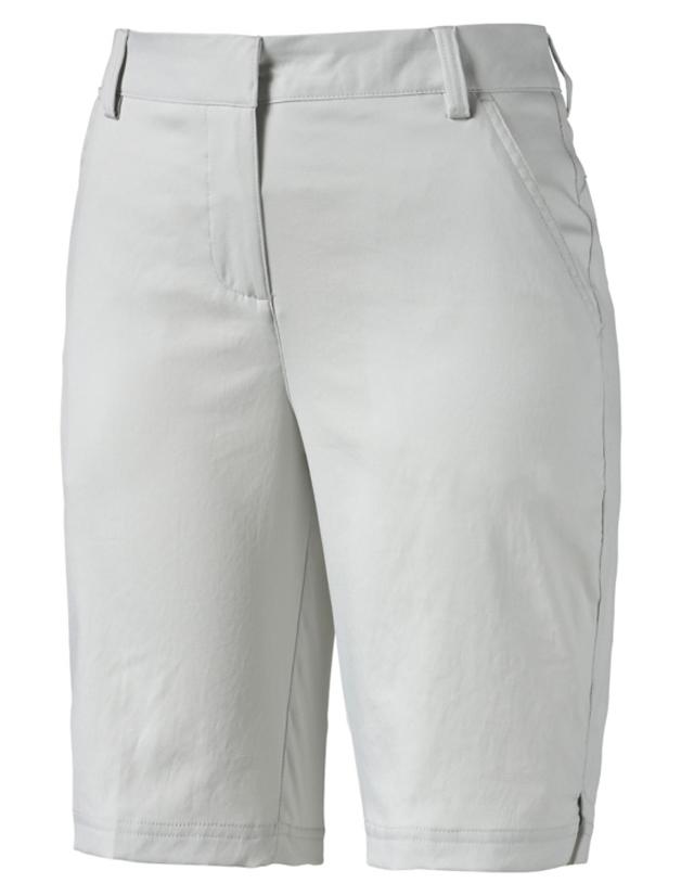 2550c7287327 Puma Ladies Tech Solid Bermuda Golf Shorts - Beige