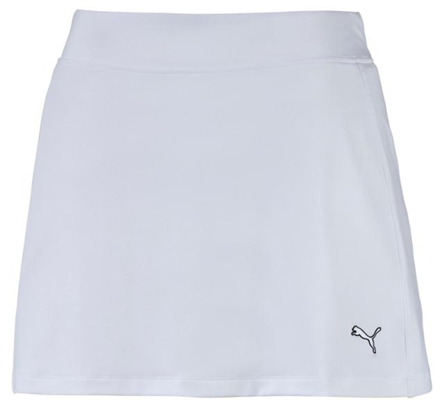 153c905c3fbd Puma Ladies Solid Knit Golf Skirt - White